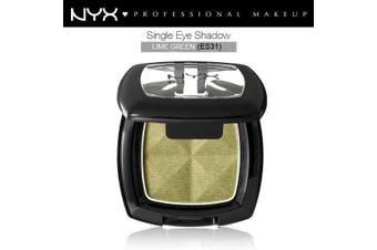 Nyx Single Eye Shadow #Es31 Lime Green Metallic Highlighter Cream