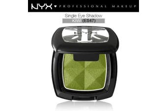 Nyx Single Eye Shadow #Es47 Kiwi Green Intense Base Frosty