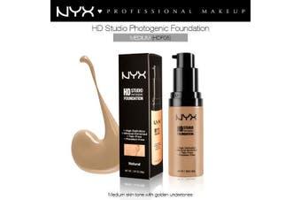 Nyx Hd Studio Photogenic Foundation #Hdf05 Medium Coverage Wrinkle Reduction