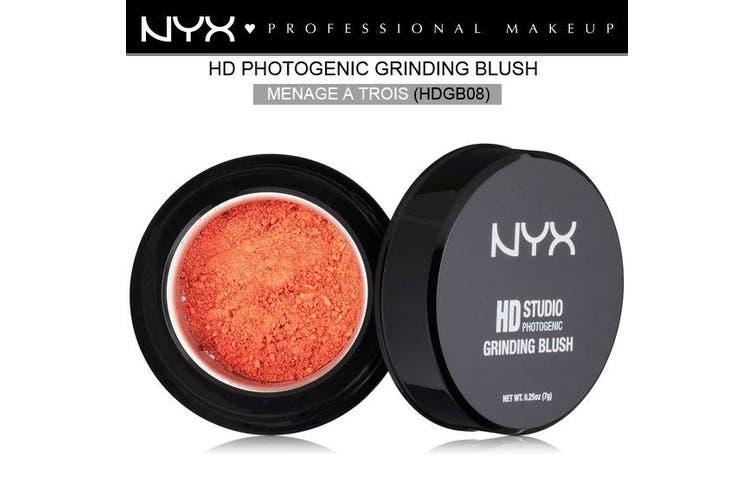 Nyx Hd Studio Photogenic Grinding Blush #Hdgb08 Menage A Trois Peach