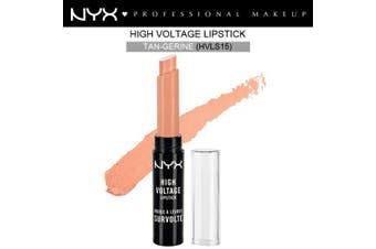 Nyx High Voltage Lipstick Lip Stick Tan-Gerine Tan Nude Rich Cream #Hvls15