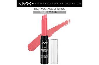 Nyx High Voltage Lipstick Lip Stick Tiara Pink Light Rich Cream #Hvls19