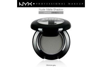Nyx Nude Matte Eye Shadow #Nms21 Craving Mid Tone Grey Smokey Matte