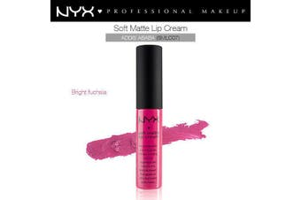 Nyx Soft Matte Lip Cream Lipstick Nude Skin Red Pink Nude Addis Ababa #Smlc07 X1