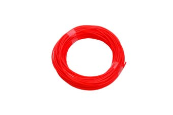 340M Pla Filament 1.75Mm For 3D Printer Pen Modeling Draw Round - Fluro Red