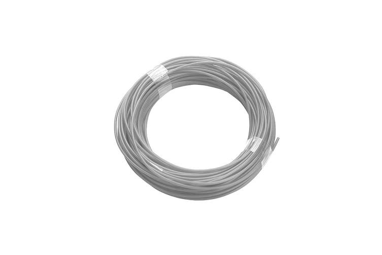 340M Pla Filament 1.75Mm For 3D Printer Pen Modeling Draw Round - Silver