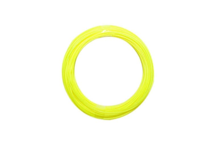340M Pla Filament 1.75Mm For 3D Printer Pen Modeling Draw Round - Yellow