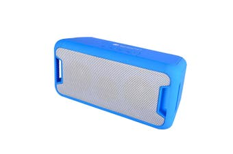 Bluetooth V2.1 Portable Wireless Stereo Speaker Rechargeable Led Usb Tf Fm Blue