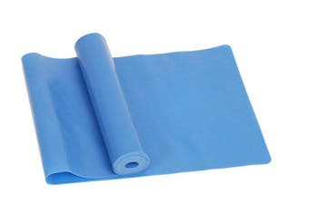 Exercise Pilates Yoga Resistance Band Workout Physio Stretch Aerobics Blue