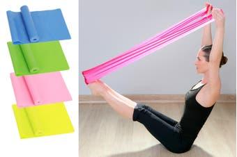 Exercise Pilates Yoga Dyna Resistance Band Workout Physio Stretch Aerobics