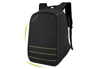 "Swissgear 15.6"" Anti Theft Laptop Backpack Usb Charge Port Sa1866 - Black"