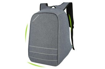 "Swissgear 15.6"" Anti Theft Laptop Backpack Usb Charge Port Sa1866 - Grey"