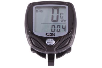 14 Function Wireless Lcd Bicycle Cycle Computer Bike Odometer Speedometer Sd-548