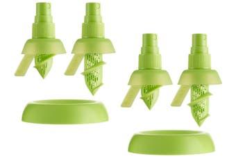 4X Stem Spray Mist Juicer Bpa Free Silicon Fruit Citrus Lemon Lime Kitchen Tool
