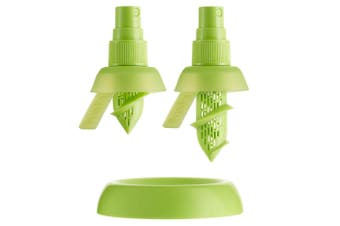 2X Stem Spray Mist Juicer Bpa Free Silicon Fruit Citrus Lemon Lime Kitchen Tool