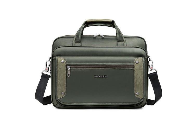 """15"""" Laptop Carry Bag Briefcase Messenger Shoulder Bag Svvtss Cfap - Black"""