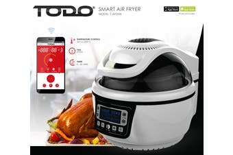 Smart Air Fryer 10L Electric Convection Oven Wireless Android Iphone App