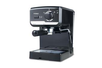 TODO Espresso Coffee Maker Automatic 15 Bar Italian Ulka Pump Frother 1.25L