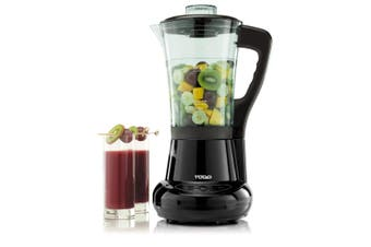 Soup Maker Heated Blender Food Processor 1.7L Jug Egg Cooker Black
