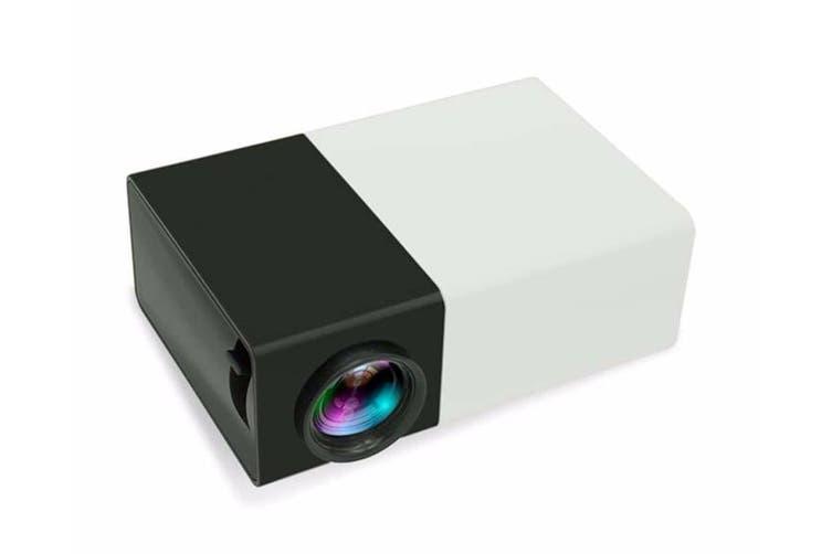 600 Lumens Mini Led Home Theatre Projector Full Hd 1920X1080 Black