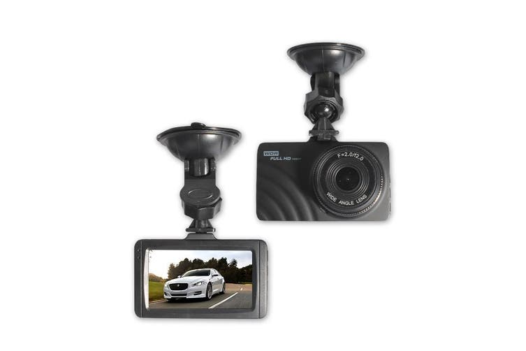 "Hd 1080P Car Dvr Camera Recorder Cam 3"" Lcd Wide Lens G Sensor T515"