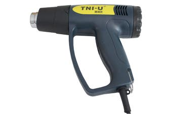 Tni-U 2000W Electric Hot Air Heat Gun 50°C - 650°C Heat Output Blue Tu-2000