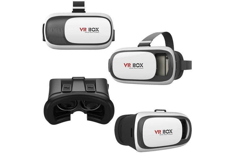 Vr Box 3D Glasses Virtual Reality Google For Samsung Htc Lg Iphone 6 6S Plus Ios