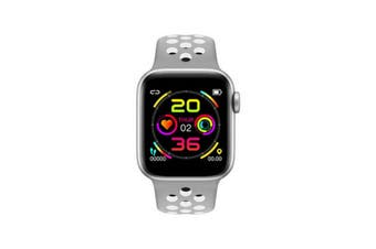 "Bluetooth V4.2 Smart Watch Heart Rate Blood Pressure Oxygen 1.54"" IPS LCD IP67 - Grey"