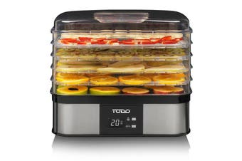 TODO 250W Stainless Steel Food Dehydrator Preserve Yogurt Fruit Dryer Jerky Maker