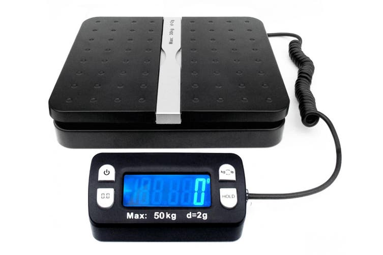 30Kg Digital Postal Scale Blue Lcd Display Tare Post 2G Graduation