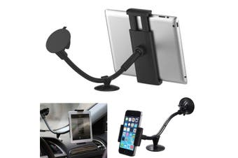 "Universal 2 In 1 Car Windsheild Mount Holder Stand Mobile Phone 5"" Tablet Pc 7"""