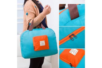 Yoga Bag Fitness Sports Recreation Handbag Shoulder Bag Folding Nylon Green