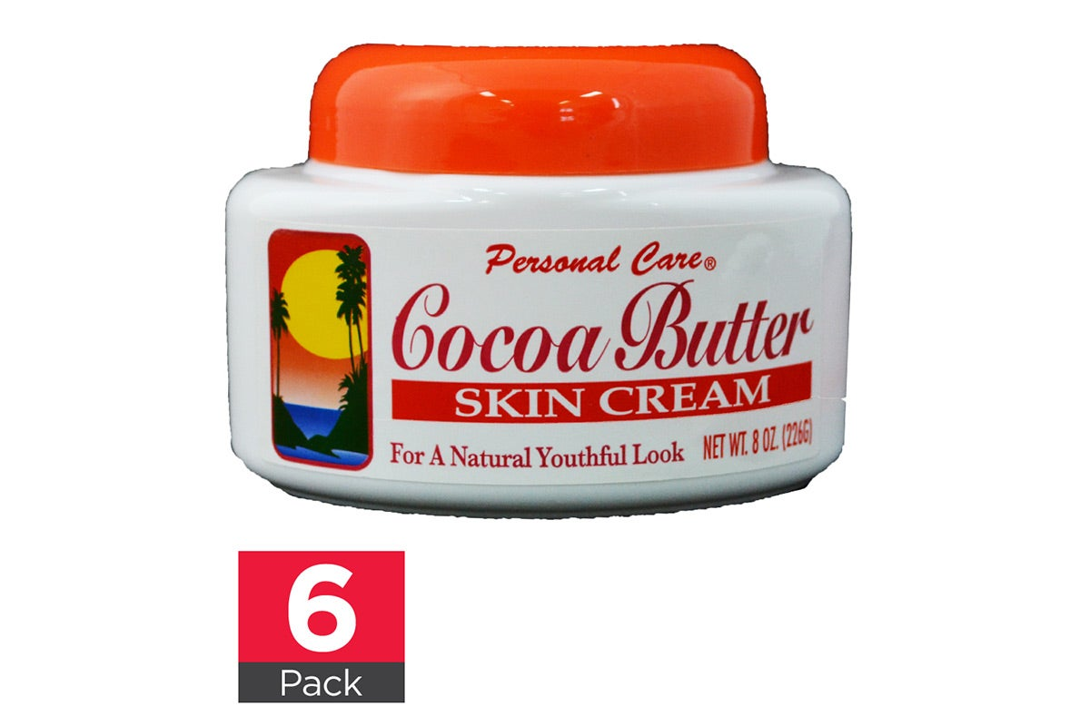 6x Personal Care Cocoa Butter Cream 226g