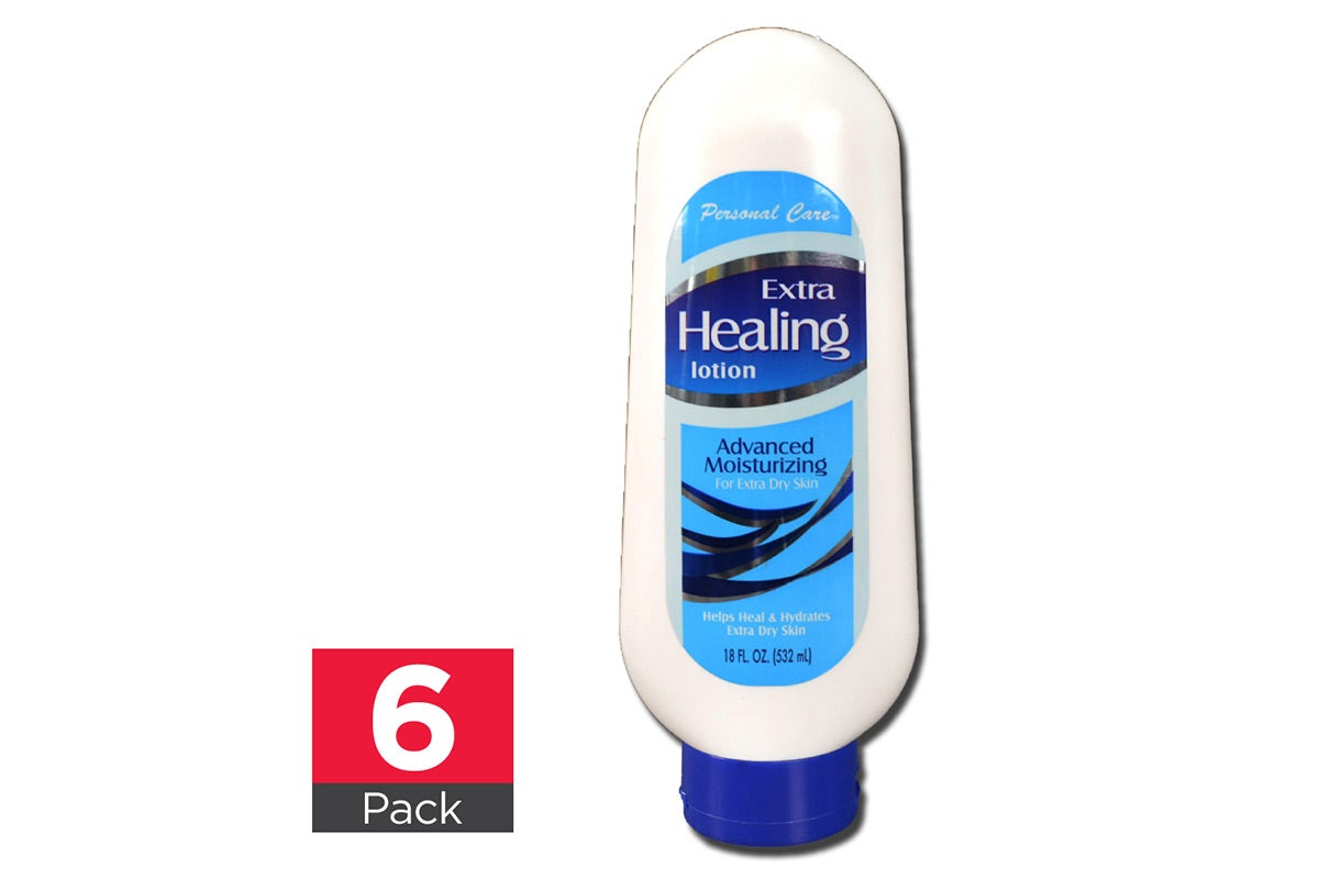 6x Personal Care Extra Healing Lotion 532mL