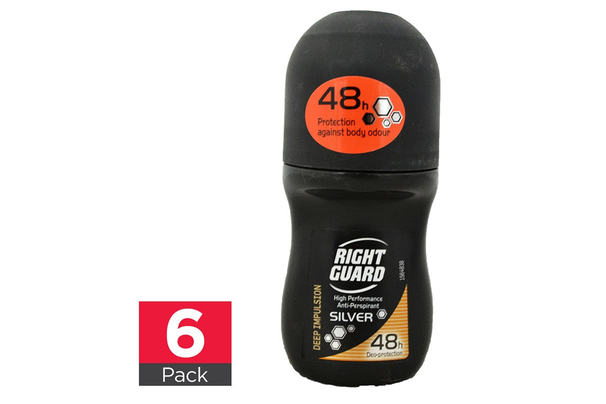 6x Right Guard Deep Impulsion Roll On 50mL