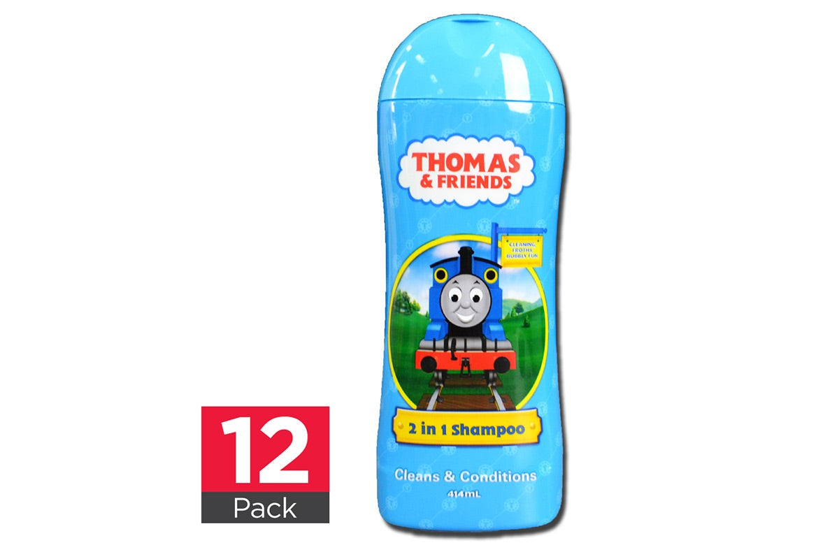 12x Thomas & Friends 2 In 1 Shampoo 414mL