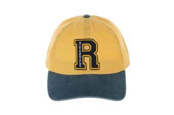 Riverdale Baseball Cap Embroidered R Logo new Official Yellow Strapback