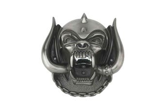Motorhead Wall Mounted Bottle Opener War Pig Snaggletooth new Official Silver