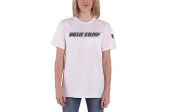 Billie Eilish T Shirt Black Racer Logo new Official Unisex