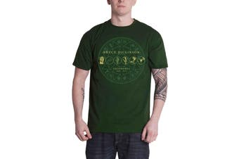 Bruce Dickinson T Shirt Soloworks Iron maiden new Official Mens Green