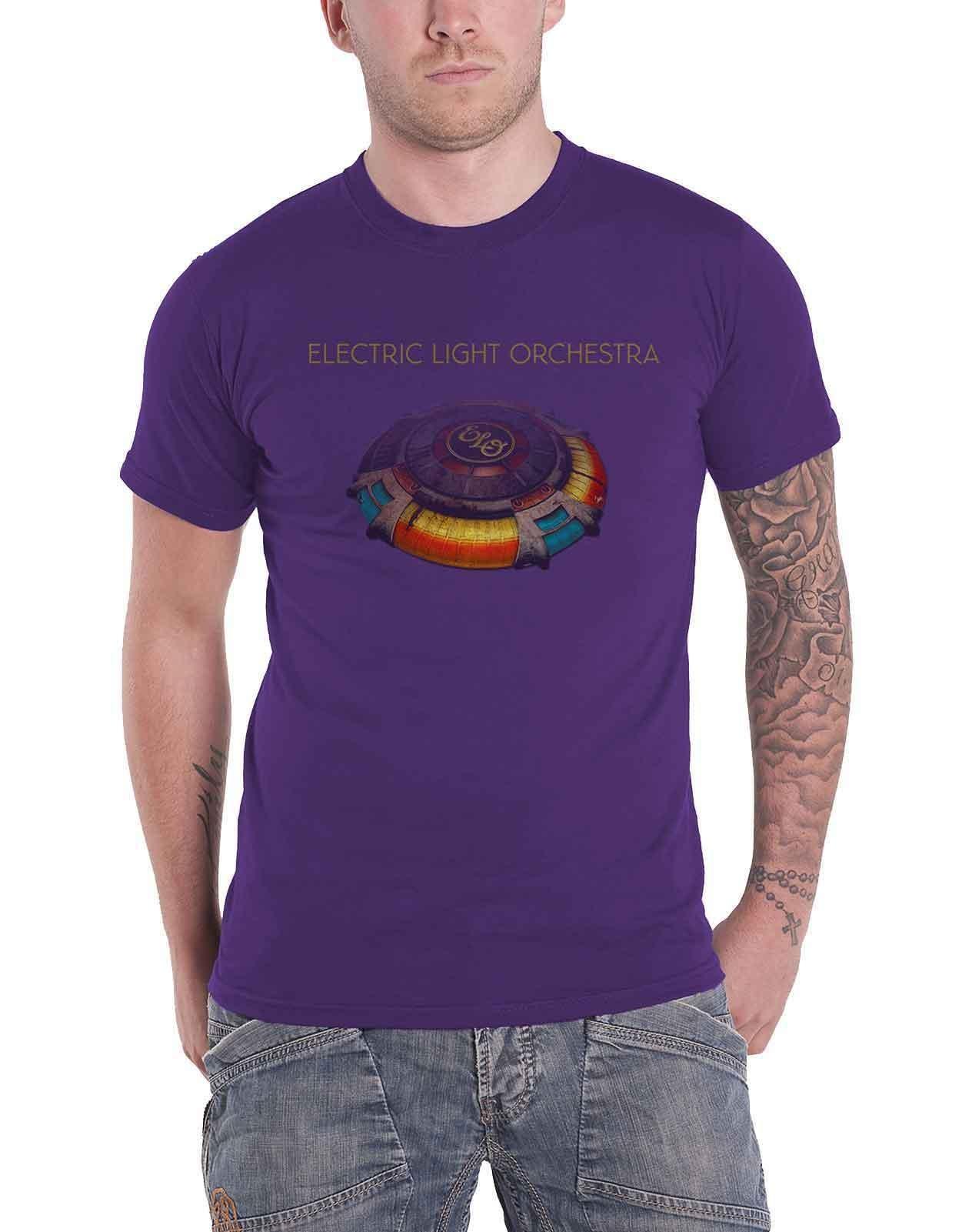 """ELECTRIC LIGHT ORCHESTRA /""""Mr Blue Sky/"""" T-shirt-NOUVEAU /& OFFICIEL! Violet"""