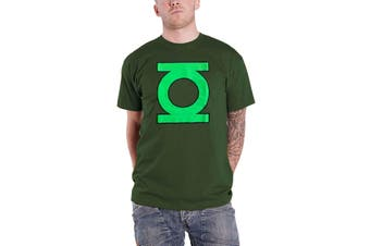 Official Mens Green Lantern T Shirt DC Comics Vintage Logo Superhero New