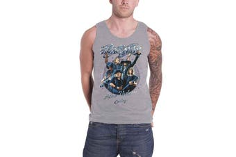 Aerosmith Vest muscle Top Aero Vederci Baby Euro tour 2017 new Official Mens