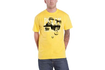 Peaky Blinders T Shirt Est Small Heath Birmingham new Official Mens Yellow
