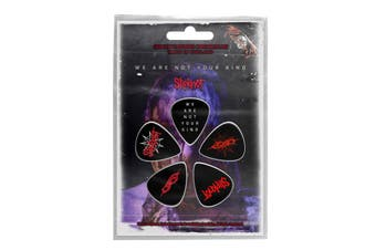 Slipknot Guitar Picks We Are Not Your Kind Band Logo Official Plectrum 5 Pack