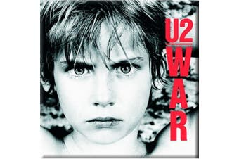 U2 Fridge Magnet War boy new Official 76mm x 76mm