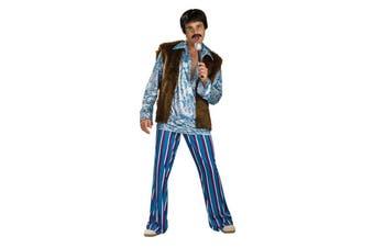 60's Hippie Rockstar Adult Costume-Standard