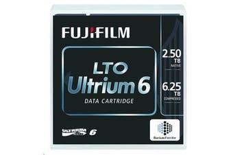 FujiFilm LTO6 Ultrium Tape Media 2.5TB/6.25TB LTO-6 Ultrium Data Cartridge(Barium Ferrite)