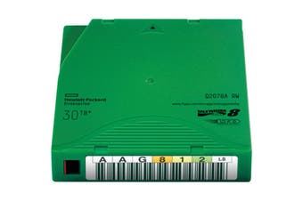 HP Q2078A HPE LTO-8 30TB RW Data Cartridge