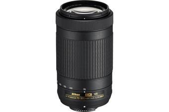 Nikon AF-P DX Nikkor 70-300mm Lens f/4-5.6G ED VR - (Aperture Range: f/4.5-6.3 to f/32